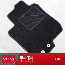 Alfombrillas de coche Ford Ranger doble cabina 03.2005-2011