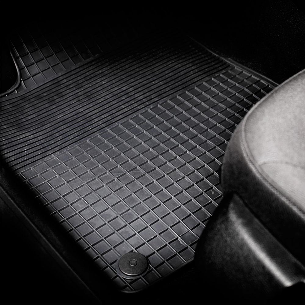 3D 5668 c/ód 6L Tipo Cubeta a Medida Antideslizante con Borde 5 cm Desde 2002-2009 MTM Alfombrillas Goma Cordoba II